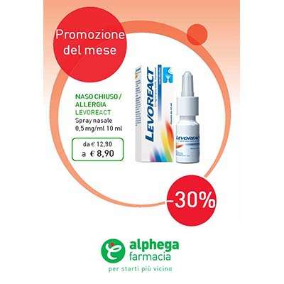 Levoreact Spray nasale 10ml