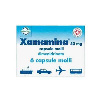 *Xamamina 6 cps 50mg