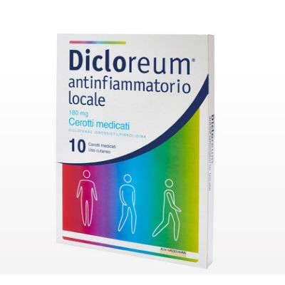 DICLOREUM ACTIGEL 10 cerotti medicati