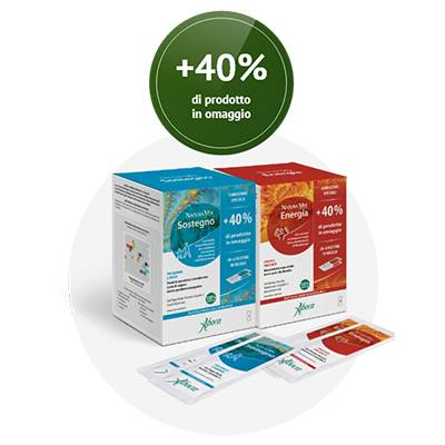 ABOCA SOSTEGNO ENERGIA BUSTINE +40% OMAGGIO