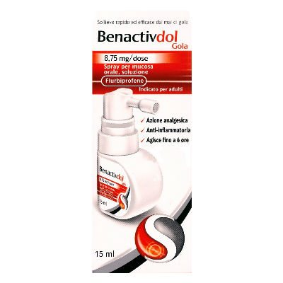 Benactivdol spray 15ml