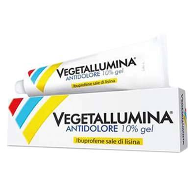 Vegetallumina antidolore 10% gel