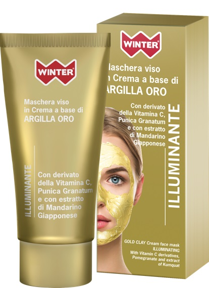 WINTER ARGILLA MASCHERA ORO ILLUMINANTE 50ML