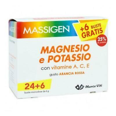 Massigen magnesio e potassio 24+6bst