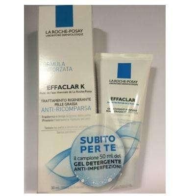 La Roche Posay Effaclar Duo +, Effaclar Mat +, Effaclar K in OMAGGIO il gel mousse purificante 50ml