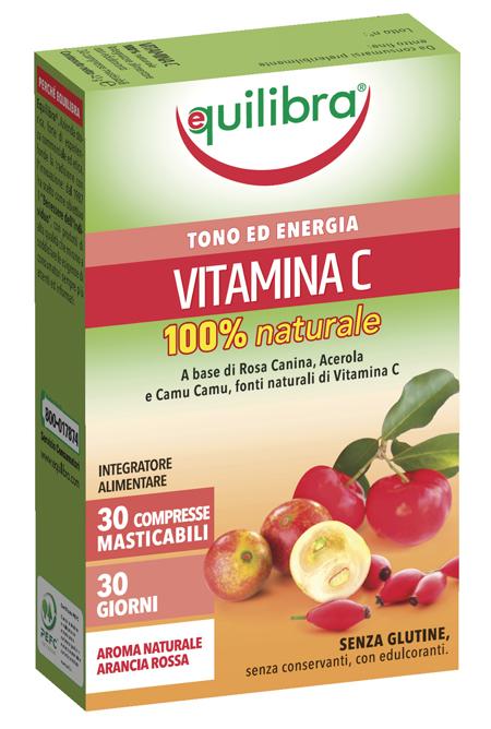 VITAMINA C 100% NATURALE 30 CPR EQUILIBRA