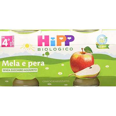 HIPP OMO FRUTTA 2X80g