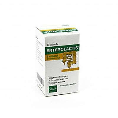 Enterolactis 20cps 8 Miliardi di fermenti vivi