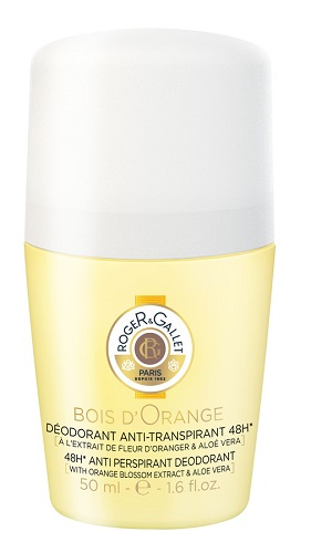 ROGER&GALLET BOIS D'ORANGE DEODORANTE ROLL-ON 50ML