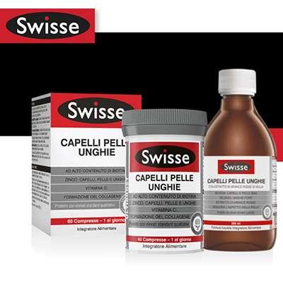 Swisse capelli pelle e unghie 60cpr/300ml