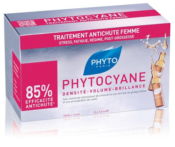 PHYTO PHYTOCYANE TRATTAMENTO ANTICADUTA DONNA 12X7,5ML FIALE