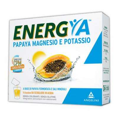 Energya papaya magnesio e potassio 14bst