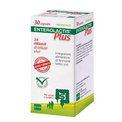 Enterolactis Plus 30 capsule con OMAGGIO per Bimbi