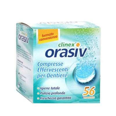 ORASIV compresse per igienizzare le dentiere