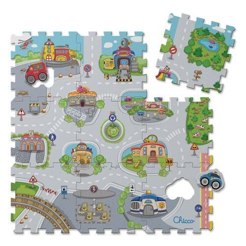 CHICCO TOY PUZZLE MAT CITY