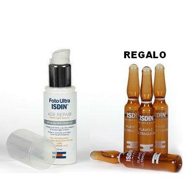 ISDIN FOTOULTRA AGE REPAIR PACK (in regalo 3 fialette FLAVO-C ULTRAGLICAN )