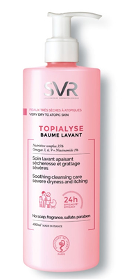 SVR TOPIALYSE BAUME LAVANTE 400ML