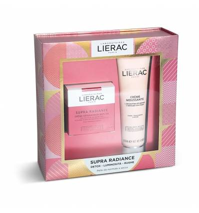 LIERAC COFANETTO SUPRA RADIANCE CREMA 50 ML + MOUSSE STRUCCANTE 150 ML