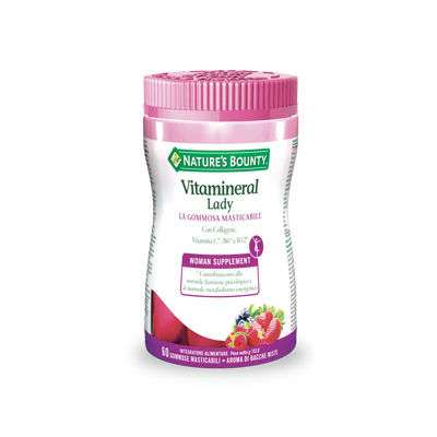 Vitamineral lady 60 gommose