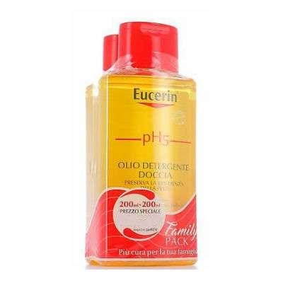 EUCERIN DETERGENTI OLIO/FLUIDO CORPO 1+1