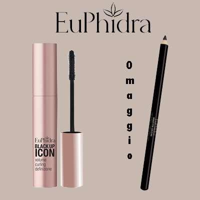 EuPhidra mascara + OMAGGIO la matita Occhi
