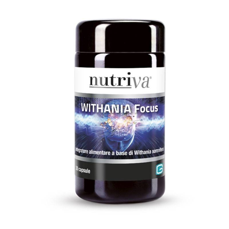 NUTRIVA WITHANIA FOCUS 30CPS