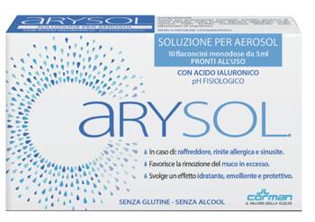 ARYSOL SOL AD 10F 5ML