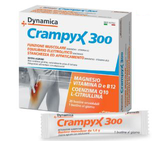 CRAMPYX 300 SALI MINERALI 20 BUST OROSOLUBILI