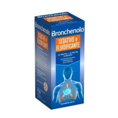 BRONCHENOLO SED FLUIDIF SCIR 150ML