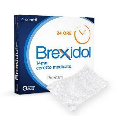 Brexidol 4 cerotti