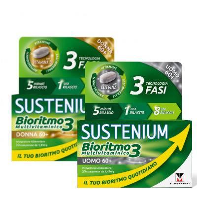 SUSTENIUM BIORITMO3 60+