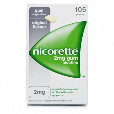 Nicorette 105 gomme