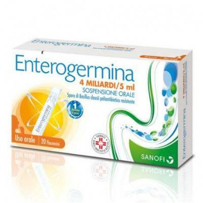 Enterogermina 4 miliardi/5ml 20 flaconcini