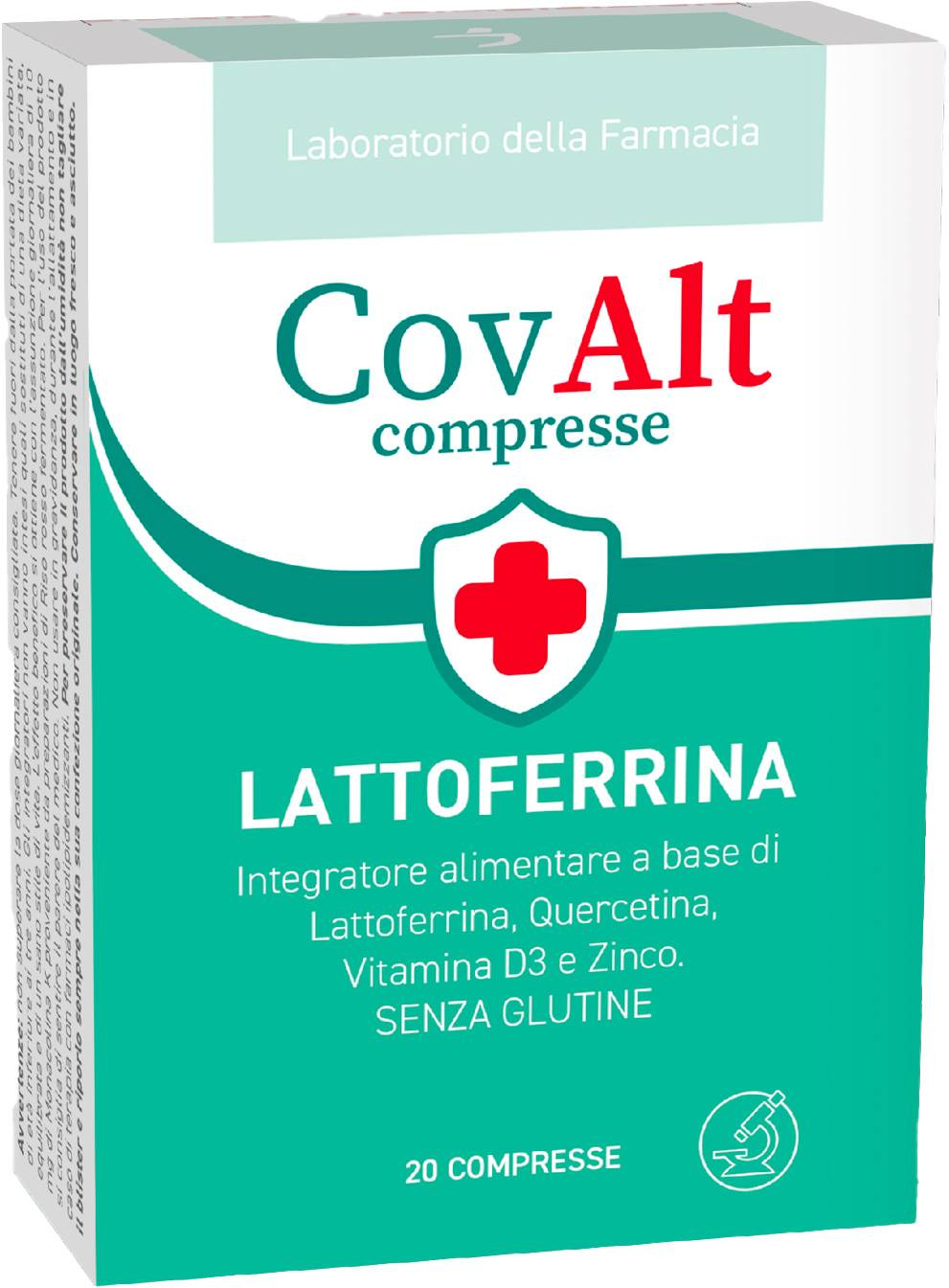 LDF COVALT  LATTOFERRINA 20 CPR