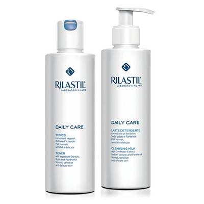 RILASTIL DAILY CARE LIMITED EDITION LATTE DETERGENTE+TONICO