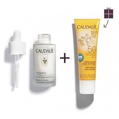 Caudalie vinoperfect siero + protezione 50 OMAGGIO