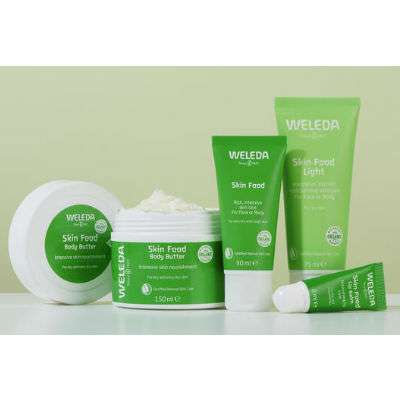 Weleda skin food linea in farmacia