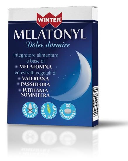 MELATONYL DOLCE DORMIRE 30 COMPRESSE WINTER