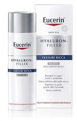 EUCERIN HYALURON FILLER TEXTURE RICCA NOTTE 50ML