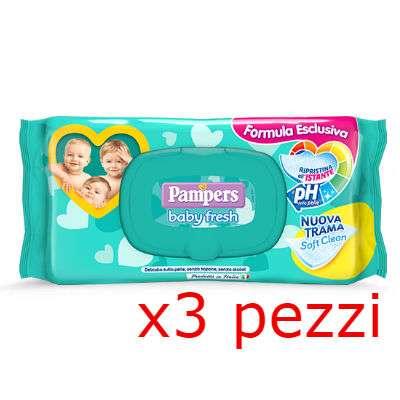 Pampers Baby fresh salviettine pacco triplo