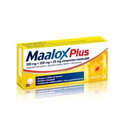Maalox plus 30 cp