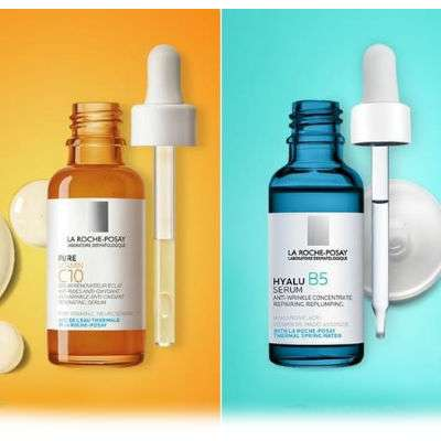 La Roche-Posay siero Pure vitamin C10 30ml + siero acido ialuronico 10ml