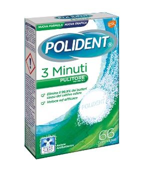 POLIDENT 3 MINUTI 66CPR