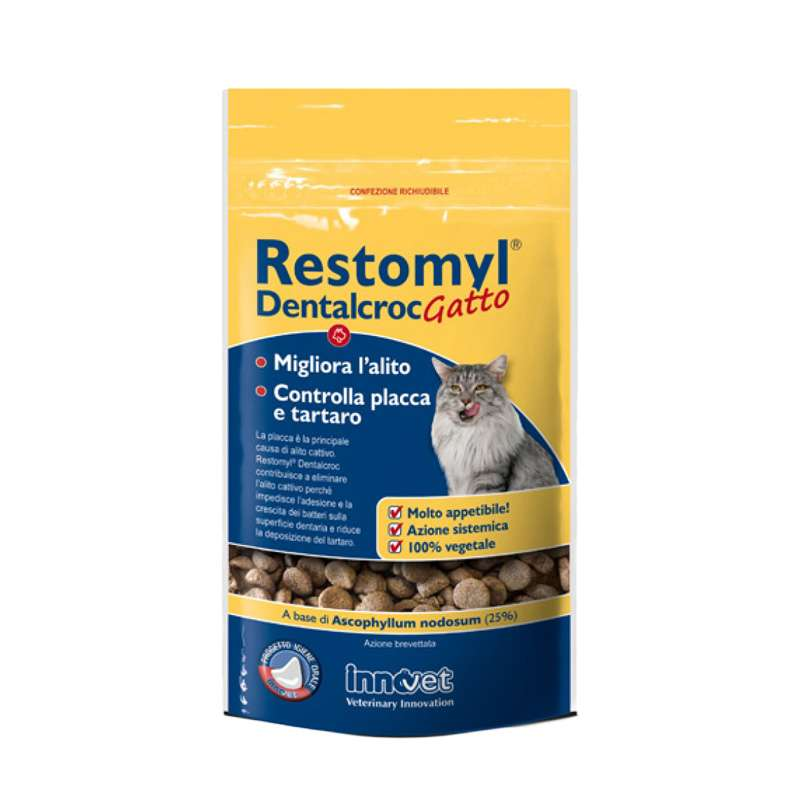 RESTOMYL DENTALCROC GATTO 60gr