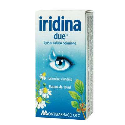 Iridina Due collirio