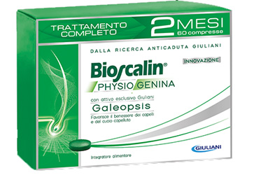 BIOSCALIN PHYSIOGENINA TRATTAMENTO ANTICADUTA 60CPR