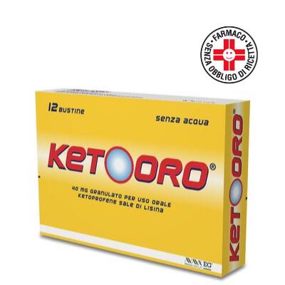 KETOORO*OS GRAT 12BUST 40MG