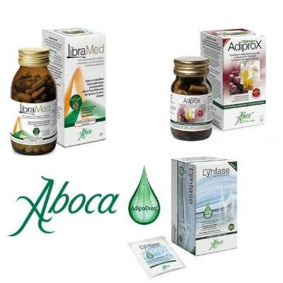 Aboca Fitomagra (Libramed, Adiprox, Lynfase) su ogni acquisto in omaggio 2 settimane di trattamento