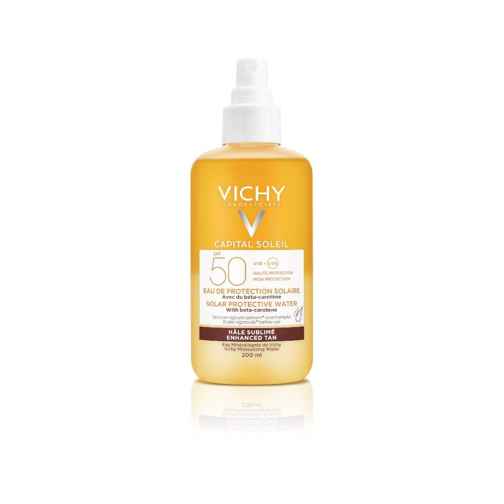 VICHY CAPITAL SOLEIL ACQUA SOLARE CORPO SPRAY ABBRONZANTE SPF50 200ML