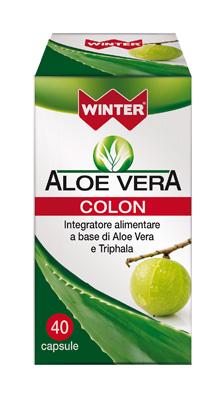 ALOE VERA INTEGRATORE COLON 40 CAPSULE WINTER